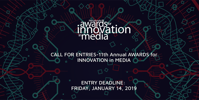 Multiple Entries for MEDIA INNOVATION AWARDS
