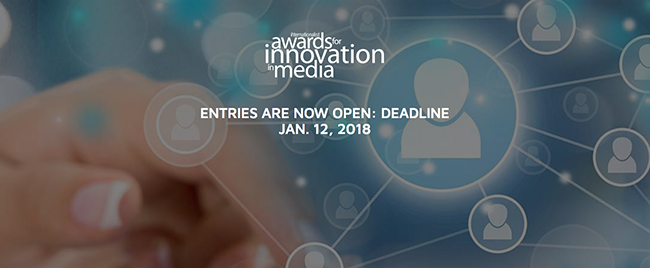 Single Entry for MEDIA INNOVATION AWARDS
